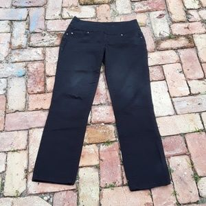JAG black high rise straight leg jeans sz 4